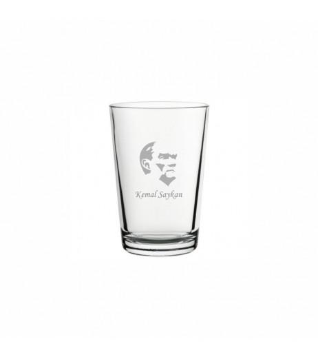 Atatürk Klasik Su Bardağı