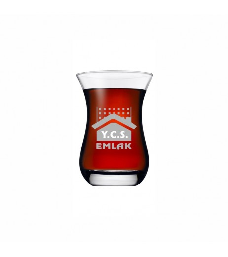 Firmalara Özel Logolu Çay Bardağı