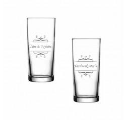 Motifli Rakı Bardağı