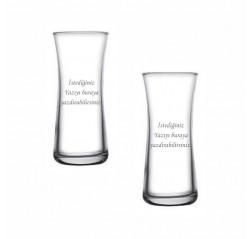 Kişiye Özel Tasarım Heybeli Rakı Bardağı