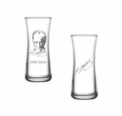 Atatürk Heybeli Rakı Bardağı