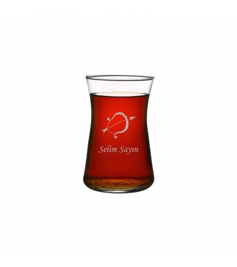 Burçlara Özel Heybeli Çay Bardağı