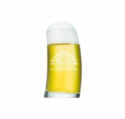 İsim ve Harf Yazılı Bira Bardağı